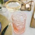 Pink Glassware Hire - Lovestruck Weddings