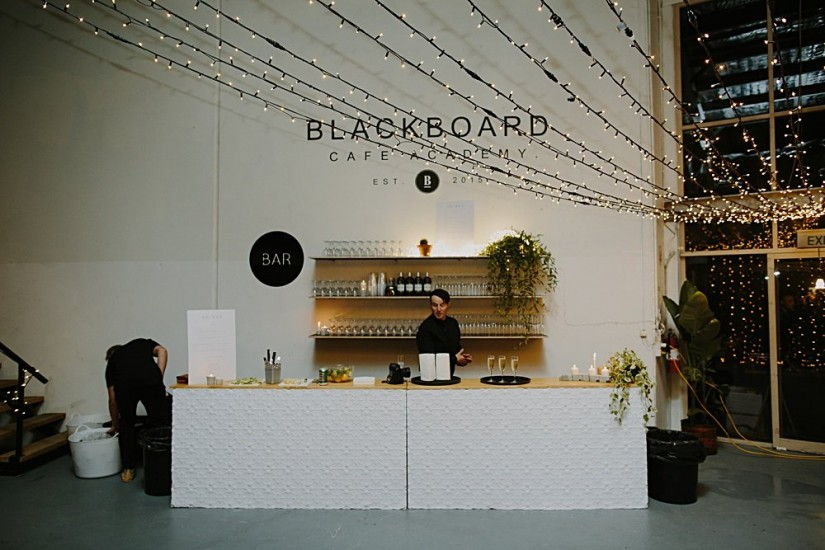 White Pressed Tin Bar Hire - Lovestruck Weddings