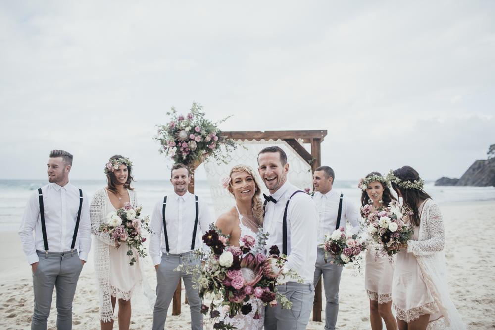 Little Cove Cabarita Beach Wedding - Lovestruck Weddings