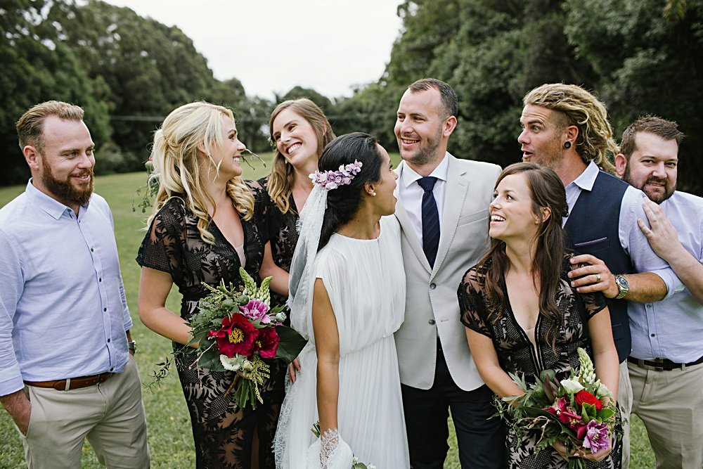 Jess and Matt - Newrybar Downs Wedding by Heart and Colour