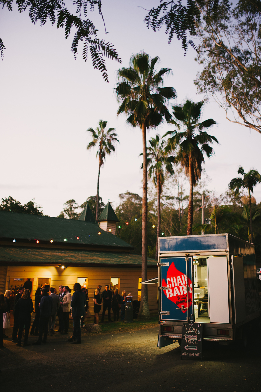 Brookfield Hall Brisbane Wedding - Char Baby BBQ Food Truck