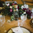 Water Bottle Table Numbers - Lovestruck Weddings