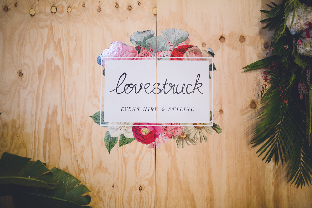 Lovestruck. Brisbane Wedding Hire.