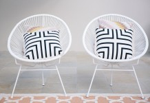 Cushion - Black + White - Lovestruck Weddings