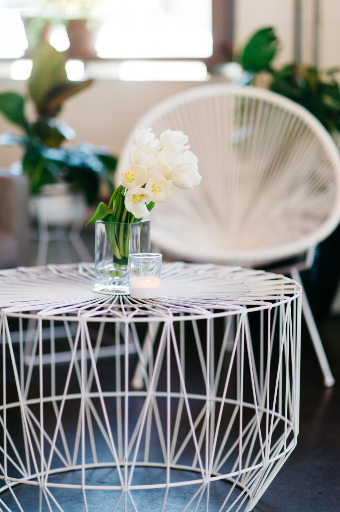 Acapulco Chair and Wire Coffee Table Hire by Lovestruck Weddings