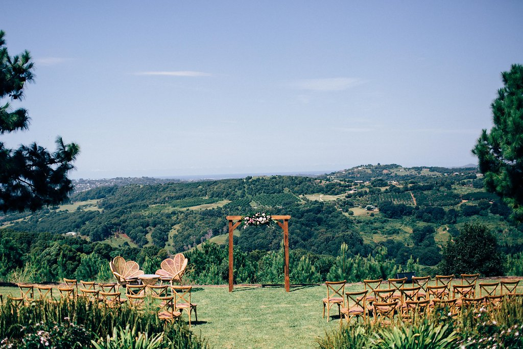 Summergrove Estate Wedding Ceremony by Lovestruck Weddings