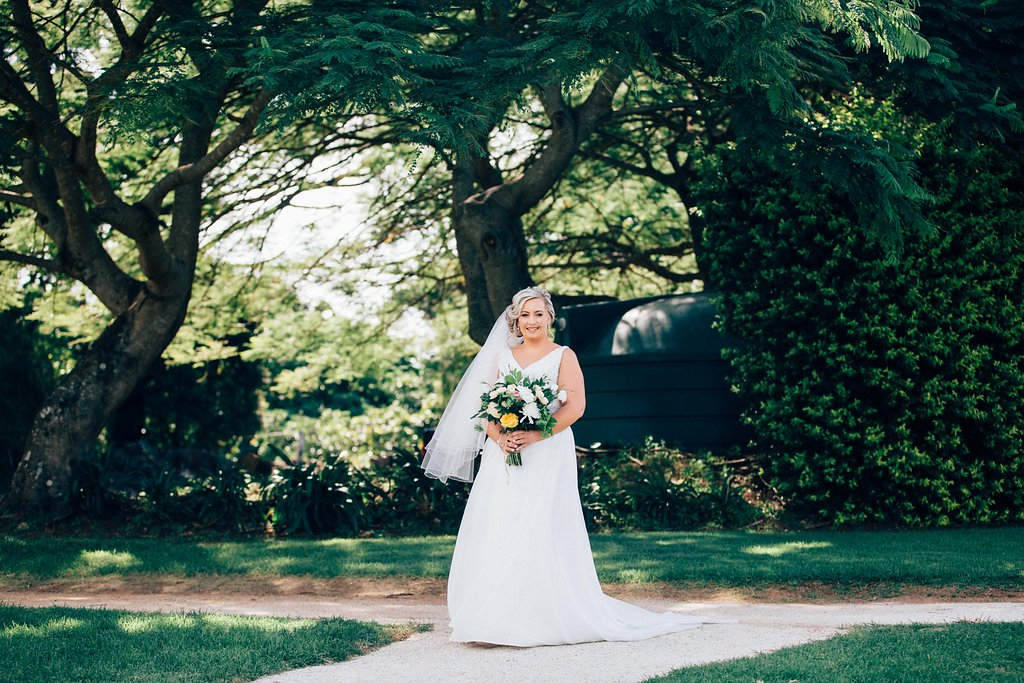 Lisa and Jason. Married at Summergrove Estate