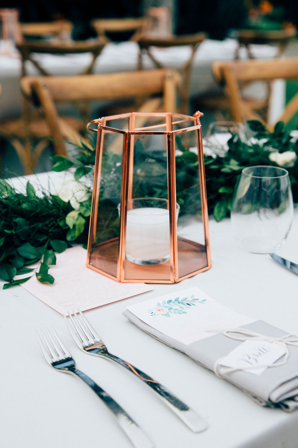 Copper Lantern Hire by Lovestruck Weddings.