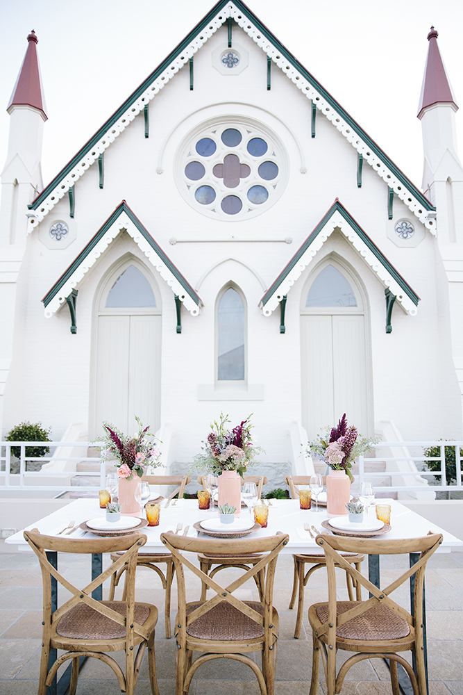 Desert Springs Wedding Furniture Package by Lovestruck Weddings.  Shot at High Church Brisbane.