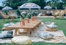 Wooden Table Hire by Lovestruck Weddings