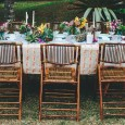 Bamboo Folding Chair Hire 2